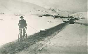 В погоне за золотом: на велосипеде от Клондайка до Аляски в 1900 году!