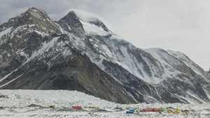 Зимние экспедиции на восьмитысячник К2: Пакистанско-исландская команда спустилась в базовый лагерь