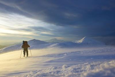 Перше в історії зимове лижне соло-проходження повної дуги Українських Карпат