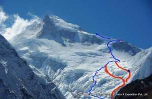 Зимние экспедиции на восьмитысячник Манаслу: найден путь к третьему высотному лагерю