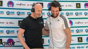 Чарли Боско покидает комментаторскую кабинку Международной федерации спортивного скалолазания