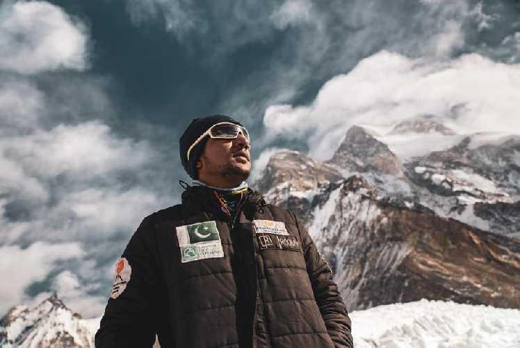 Саджид Али Садпара (Sajid Ali Sadpara) - участник экспедиции Джона Снорри