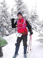 """В Україні відбувся перший зимовий забіг на Говерлу: """"У ПОШУКАХ ЙЄТІ"""". Фото Віталій Шлюпка"""