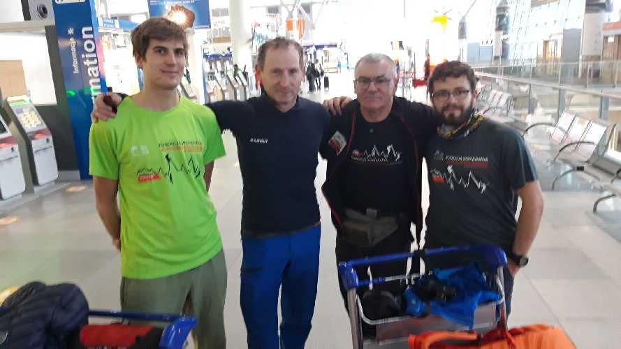 6 февраля команда прибыла в Скарду