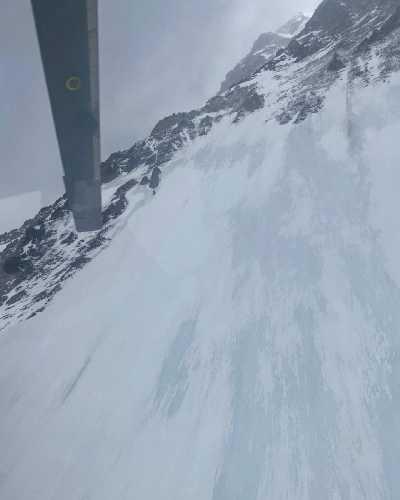 8 февраля состоялся третий облет горы К2 спасателями. Фото Chhang Dawa Sherpa