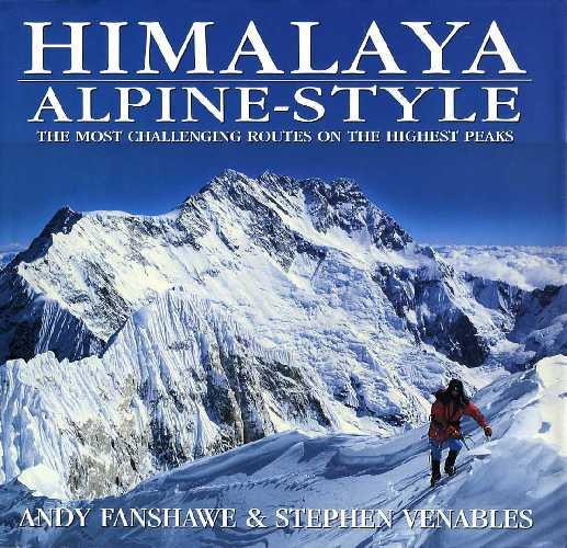 книга «Himalaya Alpine Style» авторства британских альпинистов Стивен Венейблс (Stephen Venables) и Энди Фаншвейва (Andy Fanshawe)