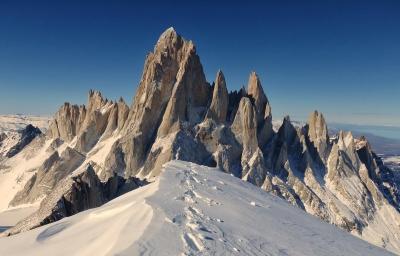 Самое впечатляющее соло-восхождение в Патагонии совершил бельгийский альпинист Шон Виллануэва О'Дрисколь