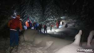 Два горнолыжника погибли в лавине в словацких Татрах