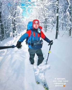 Перша лижна соло експедиція через Українські Карпати: перші новини від Ігоря Магновського