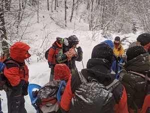 Со времени исчезновения горнолыжника на Боржаве прошло восемь дней. Поиски продолжаются.