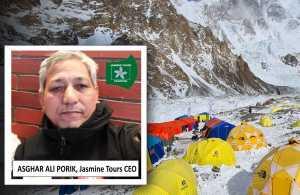 Зимний восьмитысяник К2 не дня начинающих альпинистов