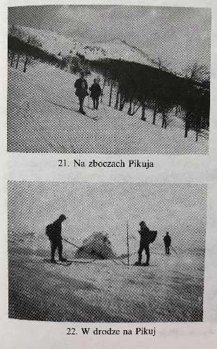 Перше історичне лижне сходження на Пікуй