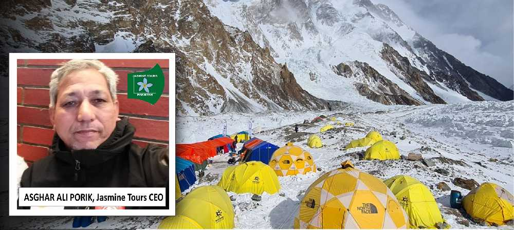 Асгар Али Порик (Asghar Ali Porik), - глава пакистанского турагентства Jasmine Trekking Tours Expeditions