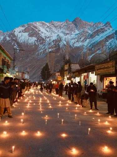 вечер памяти посвященный тройке пропавших альпинистов в Скарду