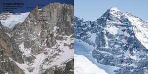 Два новых зимних маршрута в Альпах открыли альпинисты из Австрии и Италии