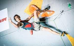 Олимпийские тренировки Адама Ондры