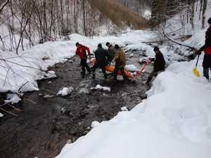 Найти не удалось: спасатели прекратили поиски пропавшего в Карпатах лыжника