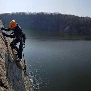 На скалах у Кременчуга состоится студенческий Чемпионат Украины по скалолазанию на природном рельефе