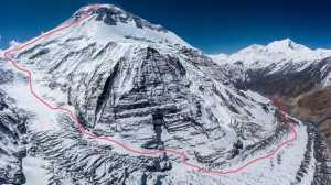 Экспедиция по новому маршруту на северо-восточной стене Дхаулагири отменена