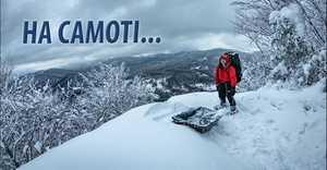 Найдовший гірський маршрут України: перша спроба зимового соло-проходження
