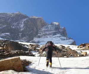 Словацко-Румынская команда прошла самый сложный участок нового маршрута к вершине восьмитысячника Дхаулагири