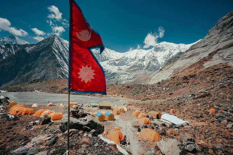 Базовый лагерь Аннапрурны. весна 2021 года. Фото Imagine Nepal