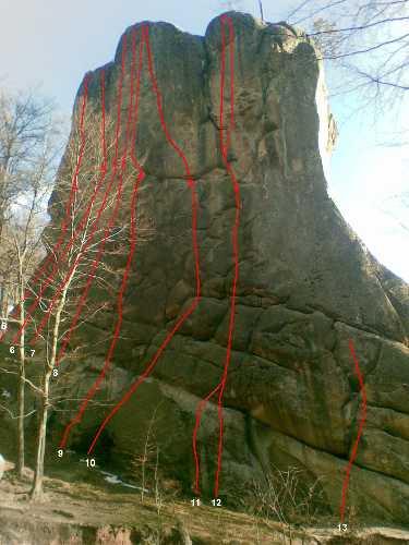 маршруты на Скалах Довбуша