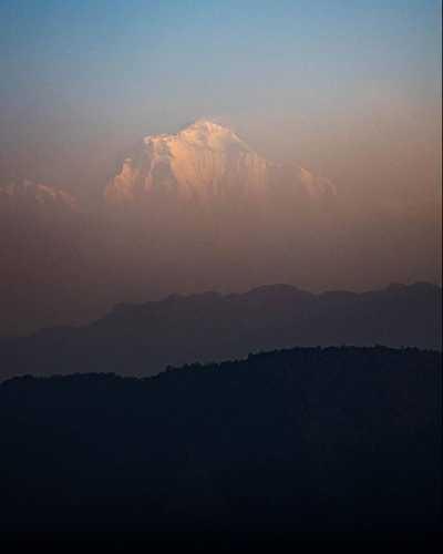 восьмитысячник Дхаулагири (Dhaulagiri, 8167 м). Фото Cory Richards