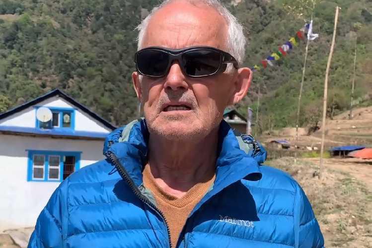 69-летний Марк Батар раскрыл детали своей экспедиции на Эверест 2022 года