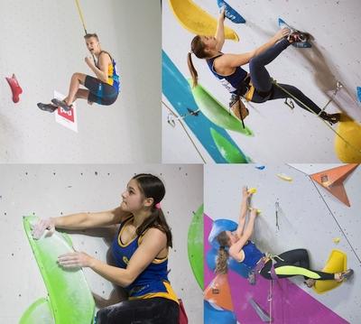 Итоги выступлений украинских спортсменов на молодежном первенстве Европы по скалолазанию в Перми