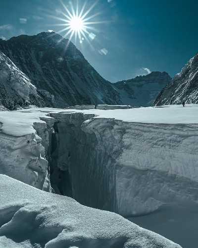 Долина тишины на Эвересте. Фото Elia Saikaly