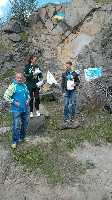 студенческий Чемпионат Украины по скалолазанию на природном рельефе. Фото www . fais . org . ua