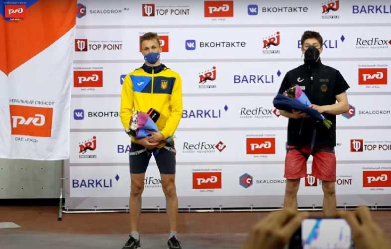 Григорий Ильчишин стал серебряным призером молодежного первенства Европы по скалолазанию в дисциплине скорость