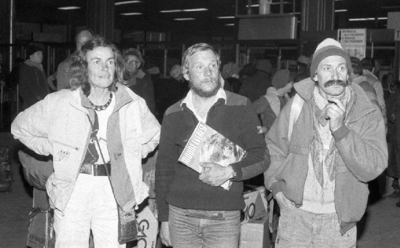 Ванда Руткевич (Wanda Rutkiewicz), Ежи Кукучка (Jerzy Kukuczka), Кшиштоф Велицкий: (Krzysztof Wielicki)