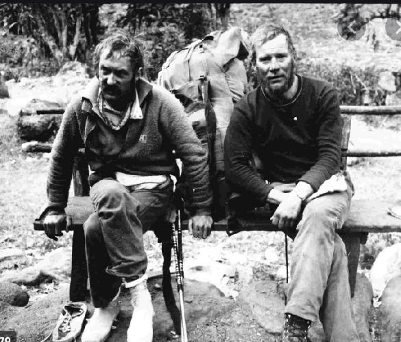Кшиштоф Велицкий: (Krzysztof Wielicki) и Ежи Кукучка (Jerzy Kukuczka)