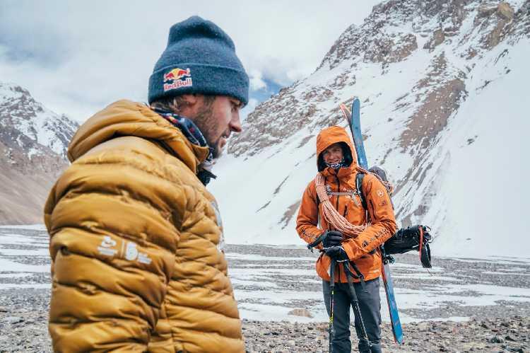 Анджей Баргель (Andrzej Bargiel) и Йендрек Барановски (Jędrek Baranowski) во время Каракорумской экспедиции 2021