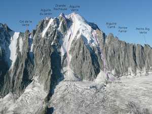 На Монблане погибли два профессиональных горнолыжника