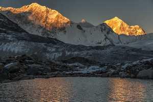 Попытка прохождения нового маршрута на Барунцзе: чешские альпинисты продолжили штурм после первого лагеря