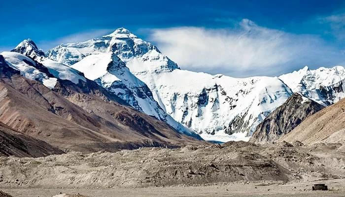 Северная, китайская сторона Эвереста
