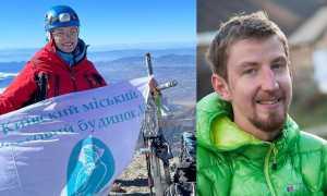 Два киевлянина поднялись на вершину Эвереста