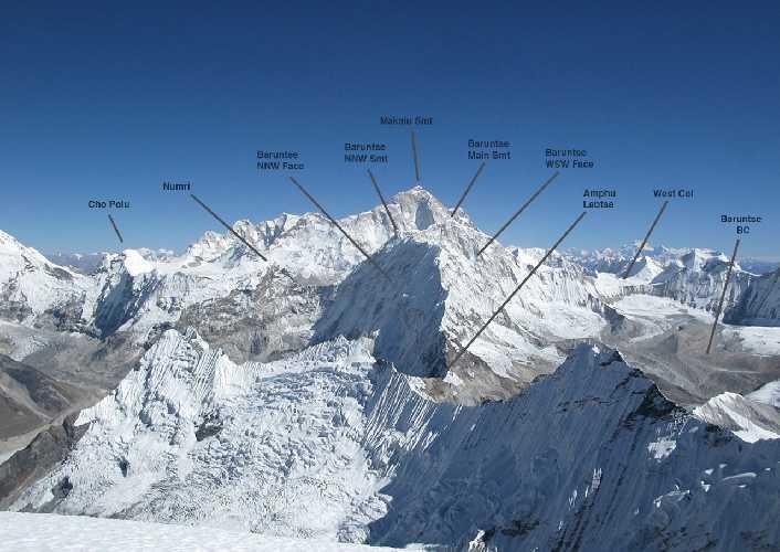 Барунцзе (Baruntse) высотой 7129 метров.