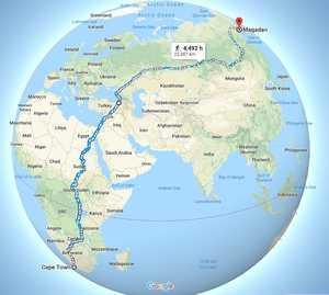 Самая длинная прогулка в мире