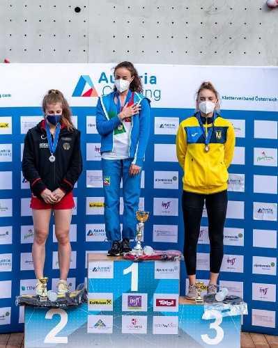 одесситка София Гладка в своей возрастной группе (юниоров) заняла третье место!