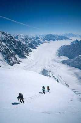 Новые альпийские восхождения на Юконе
