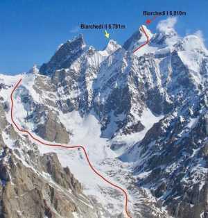 В поисках маршрута к непокоренной вершине Биарчеди I