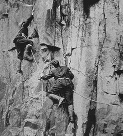 После того, как основные альпийские вершины были пройдены самыми простыми, стандартными маршрутами, альпинисты перешли на более технически сложные линии