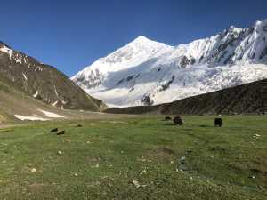 Французские альпинисты прошли северный хребет пика Диран (7266 метров) в альпийском стиле