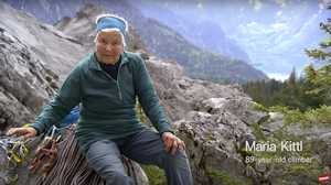 Скалолазание в 89 лет: австрийка Мария Киттл проходит маршруты каждую неделю