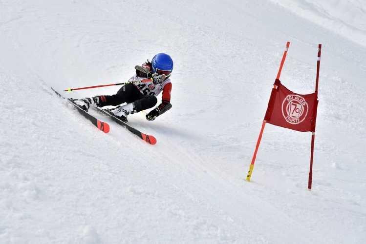 Андреа Челлерис, настоящий талант не только на скале, но и на лыжах