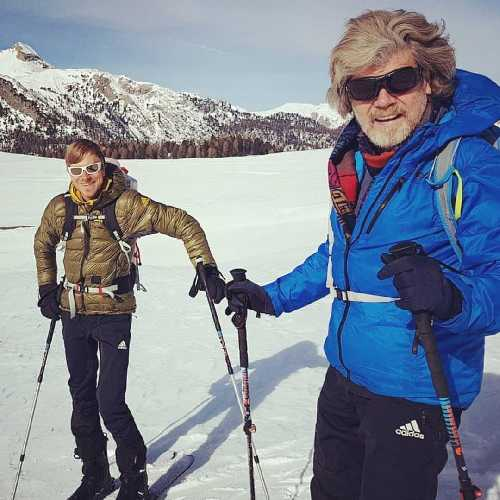 Саймон Месснер ( Simon Messner) и Райнхольд Месснер (Reinhold Messner)